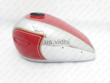 ARIEL 350CC RED PAINTED CHROME FUEL PETROL TANK