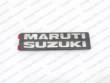 MARUTI SUZUKI PLASTIC CHROME BADGE EMBLEM