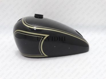 MATCHLESS (SINGLE CYLINDER) BLACK  PAINTED PETROL TANK