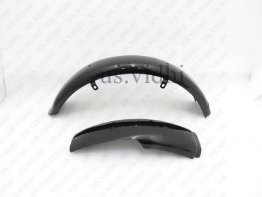 AJS 16M MILITARY MODEL REAR MUDGUARD FENDER BLACK PAINTED