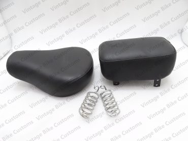 ROYAL ENFIELD CLASSIC C5 FRONT DRIVER & REAR PASSENGER COMPLETE SEAT