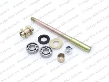 ROYAL ENFIELD FRONT WHEEL AXLE KIT FOR DISC BRAKE MODEL