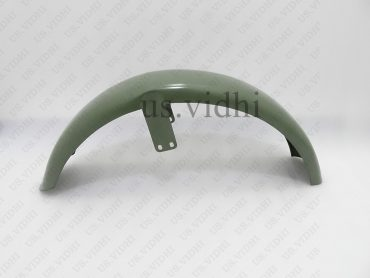 AJS 16M MILITARY MODEL FRONT MUDGUARD FENDER GREEN PAINTED