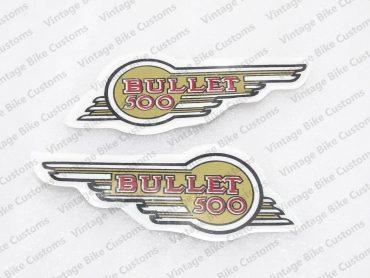 ROYAL ENFIELD 500CC TOOLBOX STICKER SET