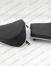 ROYAL ENFIELD BLACK WIDE TWIN CLASSIC SEAT