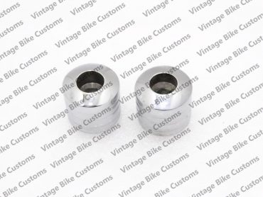 ROYAL ENFIELD HANDLE BAR END WEIGHTS CHROMED (TYPE 1)