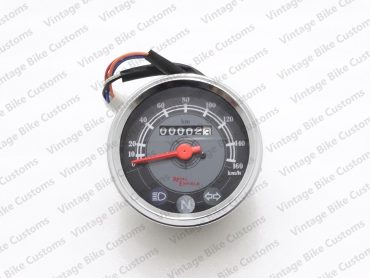 ROYAL ENFIELD GREY SPEEDOMETER 0-160KMHR