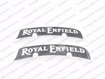 ROYAL ENFIELD NUMBER PLATE STICKERS SET OF 2