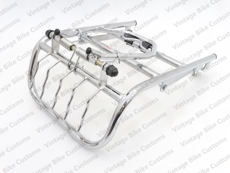 ROYAL ENFIELD REAR LUGGAGE TOURING CARRIER LIGHT GUARD CHROME PLATED