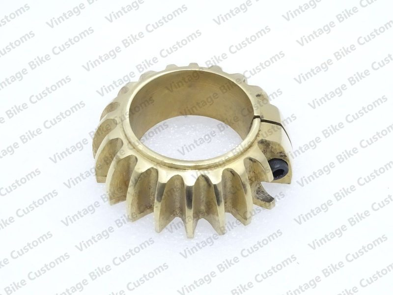 ROYAL ENFIELD BRASS EXHAUST COOLING RING 500cc
