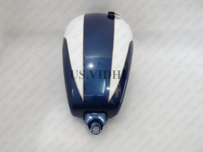 TRIUMPH T150 TRIDENT BLUE PAINTED PETROL TANK (REP)