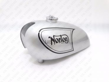 NORTON P11 N15 MATCHLESS G15 G80CS STEEL SCRAMBLER COMPETITION FUEL TANK