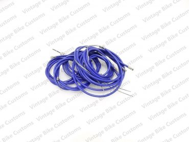 LAMBRETTA  GP SCOOTER COMPLETE CABLE KIT SOLUTION (BLUE)