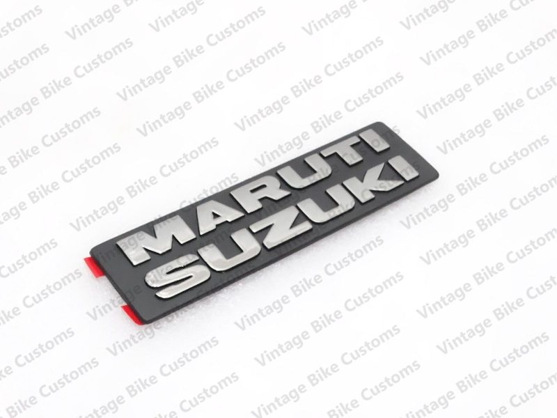 MARUTI SUZUKI PLASTIC CHROME BADGE EMBLEM