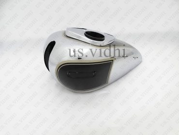 ARIEL SQUARE 4F BLACK PAINTED CHROMED FUEL PETROL TANK