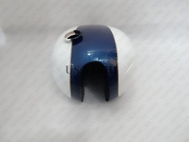 TRIUMPH T150 TRIDENT BLUE PAINTED PETROL TANK (REP)