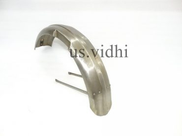 TRIUMPH 5T  T100 SPEED TWIN MUDGUARD FENDER SET  WITH STAYS  1938-47
