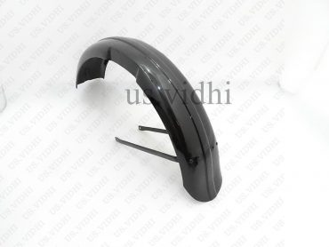 TRIUMPH 3HW 350CC BLACK PAINTED FRONT & REAR MUDGUARD FENDER SET