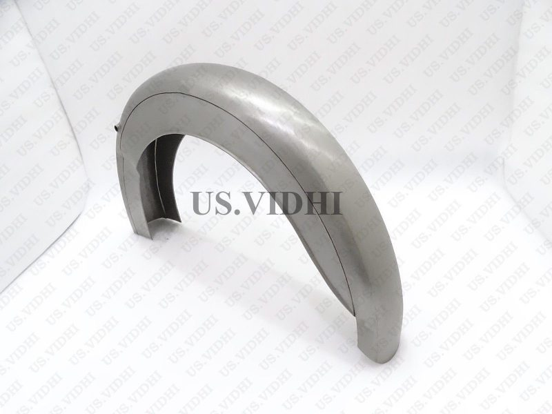 BSA D1 D3 125CC BANTAM REAR MUDGUARD FENDER RAW STEEL