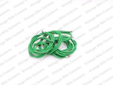 LAMBRETTA GP SCOOTER COMPLETE CABLE KIT SOLUTION (GREEN)